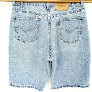 VINTAGE Levis 550 Relaxed Fit 33 Waist Jean Shorts
